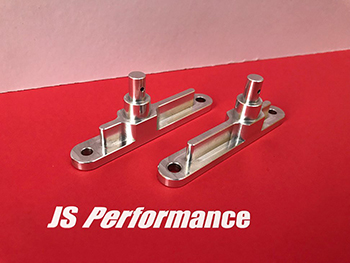 Monster Truck Aluminum Center Rear Side Roll Cage Mounts - JS Performance