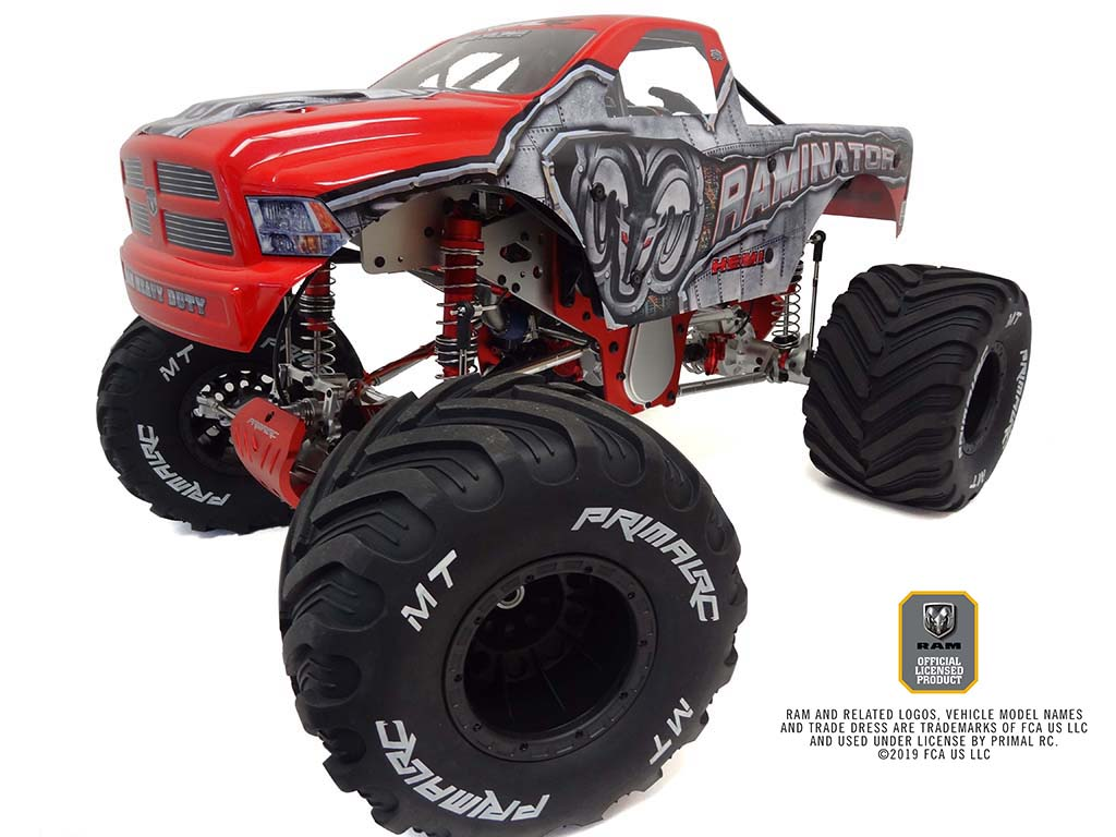 Primal Rc 1 5 Scale Raminator Monster Truck