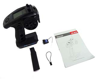 Raminator Monster Truck FLY-SKY FS-GT5 Transmitter and Receiver