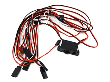 Raminator Monster Truck Servo, Battery Harness