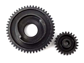 1/5 Scale 50/24 Gear Set for Black Bone & King Motor V2 2-Speed Kits