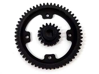 1/5 Scale 56/18 Gear Set for Black Bone & King Motor V2 2-Speed Kits