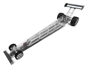 1/5 Scale Brushless Ready Electric Dragster Roller