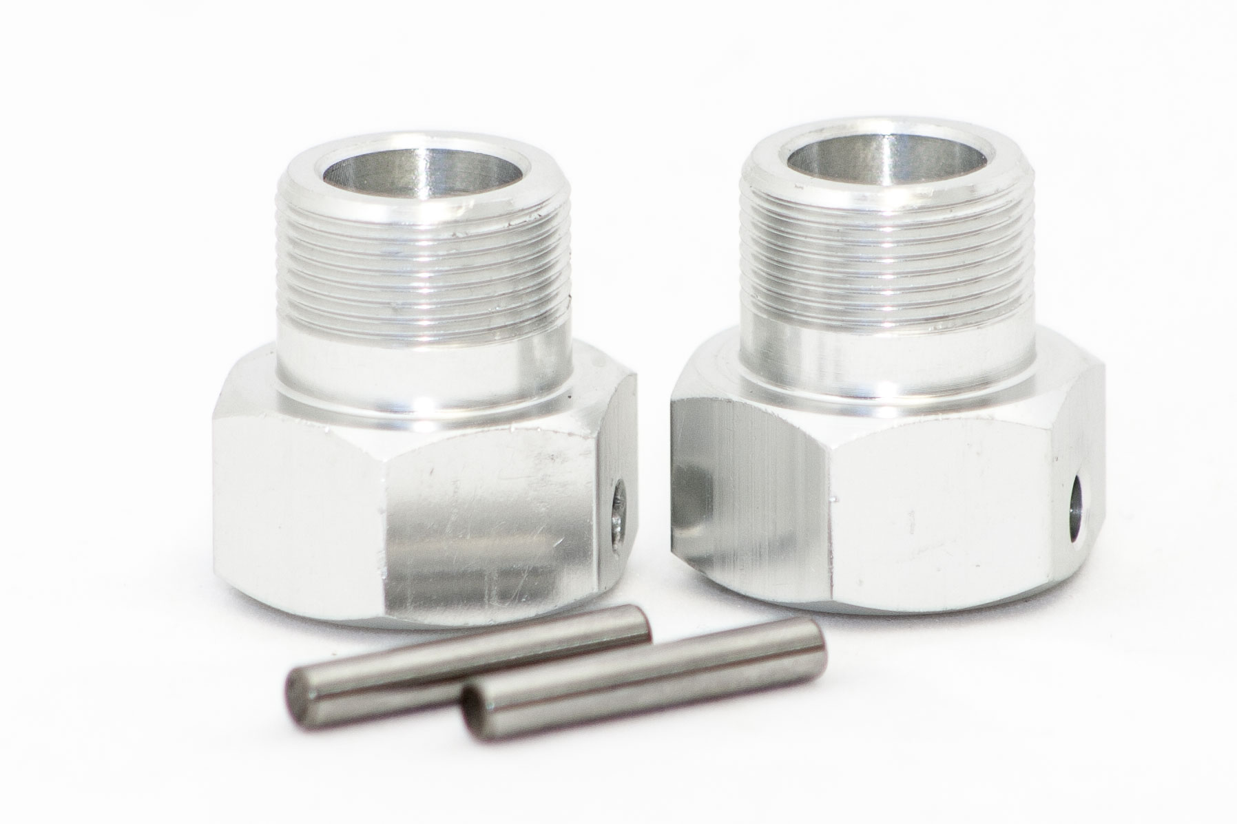QS Rear Aluminum Wheel Hubs (24mm) (Set of 2)