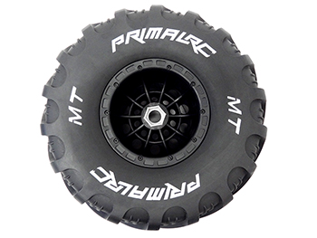 Raminator Monster Truck Tire/Wheel Mounted (left) Side