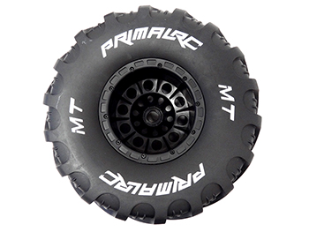Raminator Monster Truck Tire/Wheel Mounted (right) Side