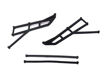 Raminator Monster Truck Front, Side Roll Cage Parts