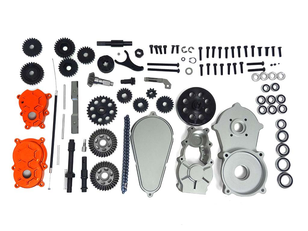 Raminator Monster Truck Complete Transmission Kit