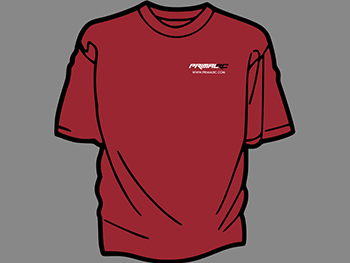 Primal RC T-Shirt (Monster Truck Red)