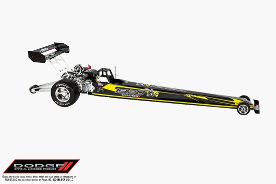 QS 1/5 Scale RTR Dodge 1320 Angry Bee Gas Powered Dragster