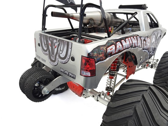 Monster Truck Wheelie Bar - RCMAX