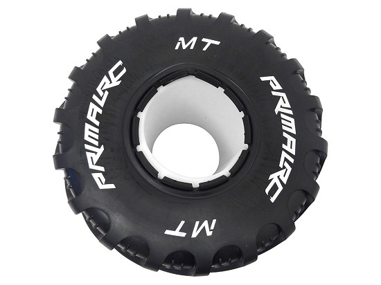 Raminator Monster Truck Tire with Foam