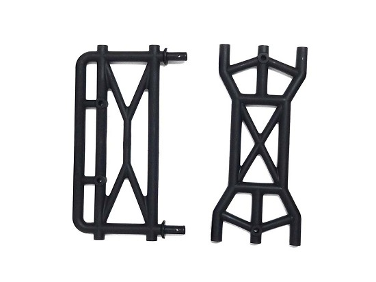 Raminator Monster Truck Main Rear Bumper Parts